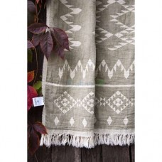Покрывало Barine - Kilim Throw Khaki 130*170 хаки